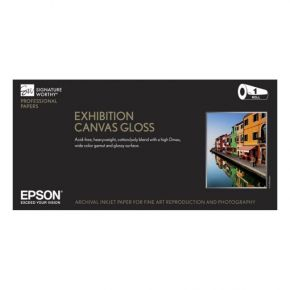 "Epson Exhibition Canvas Gloss S045245 44"" x 40'     **Blowout Item** 3 - Rolls Available!"