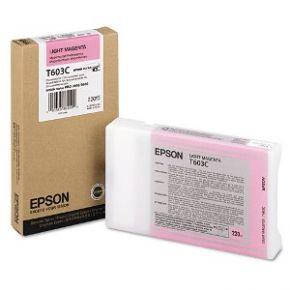 Epson T603C00 220ml Light Magenta UltraChrome K3™ Ink Cartridge for SP7800/9800