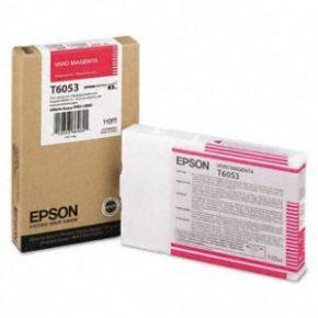 Epson T605300 110ml Vivid Magenta UltraChrome K3™ Ink Cartridge (4880 Only)