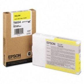 Epson T605400 110ml Yellow UltraChrome K3™ Ink Cartridge