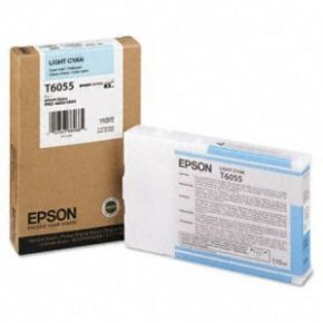 Epson T605500 110ml Light Cyan UltraChrome K3™ Ink Cartridge