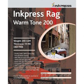 Inkpress Rag Warm Tone 200 2-Sided Paper